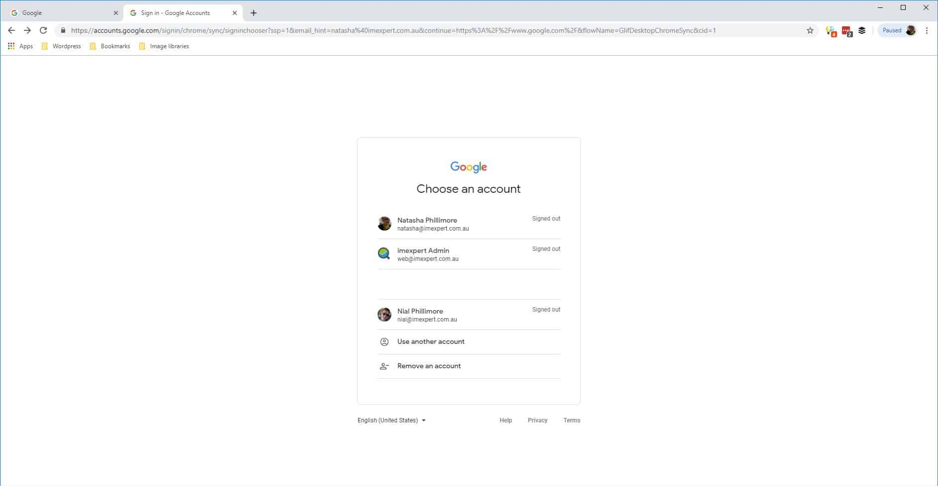 Sign In To Chrome 3