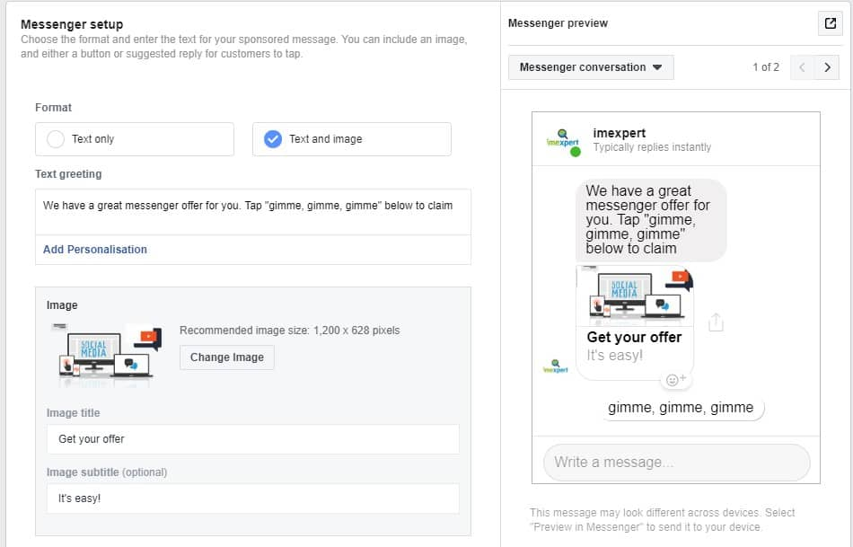 Sponsored Facebook messages | Your how-to-guide